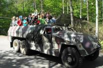 Przejażdżki pojazdami wojskowymi – Wilczy Szaniec